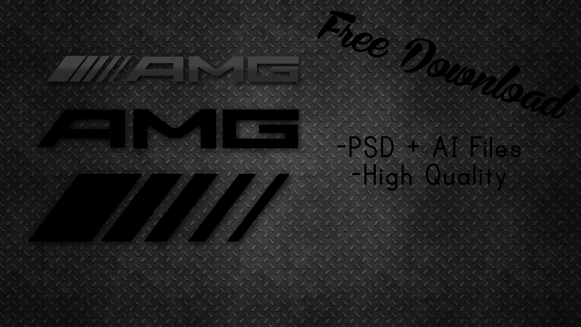 AMG Logo Template [High Quality Vector] by 1920x1080