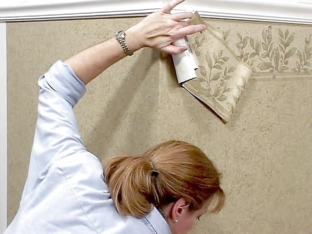 Wallpaper Installation   Hanging Border Paper American Blinds Video 640x480