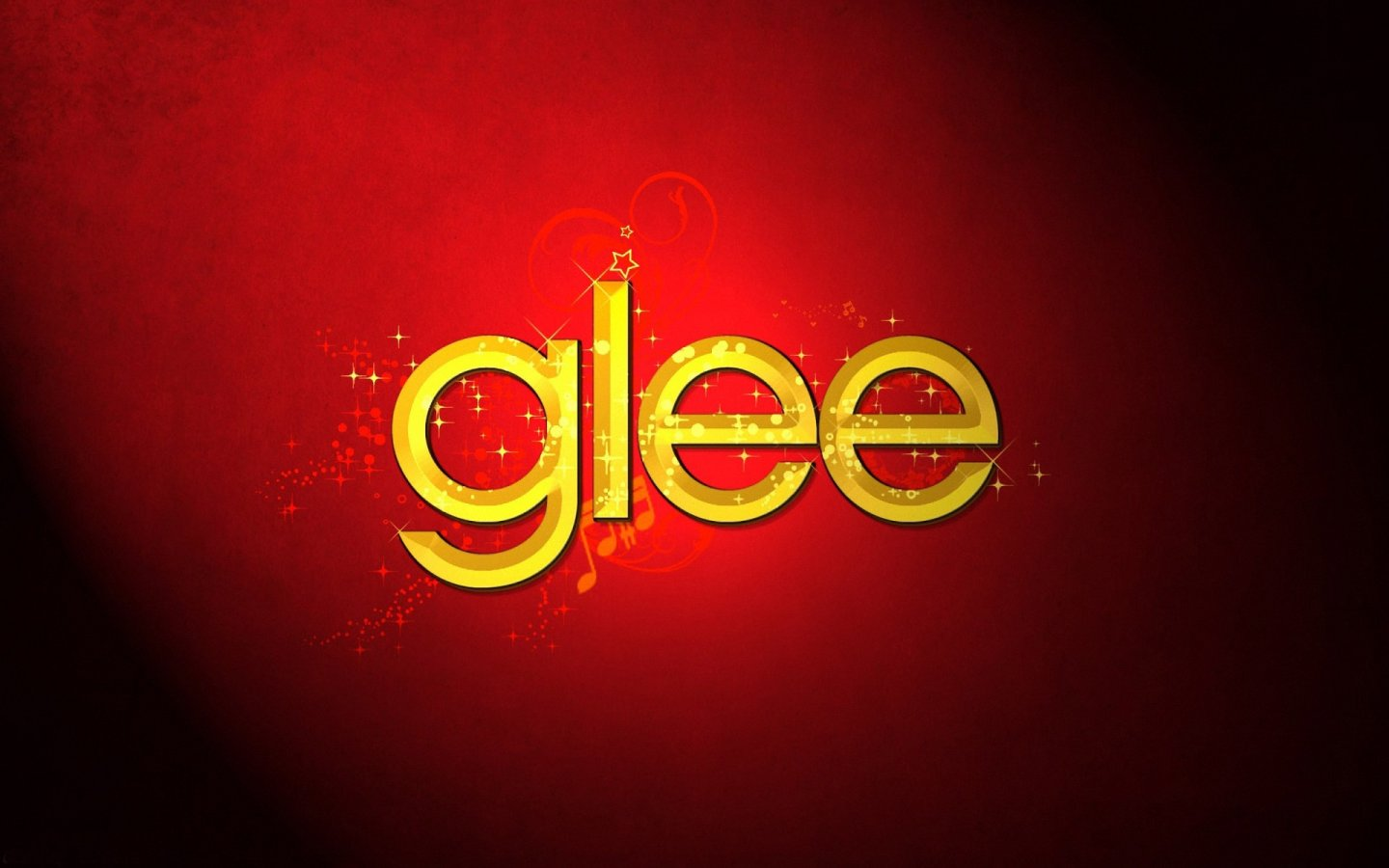 Glee Logo 1440x900 Wallpapers 1440x900 Wallpapers Pictures 1440x900