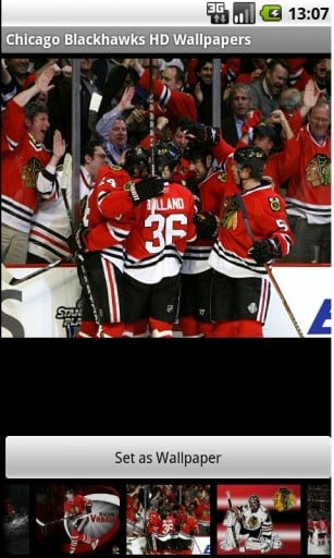 View bigger   Chicago Blackhawks HD Wallpape for Android screenshot 307x512