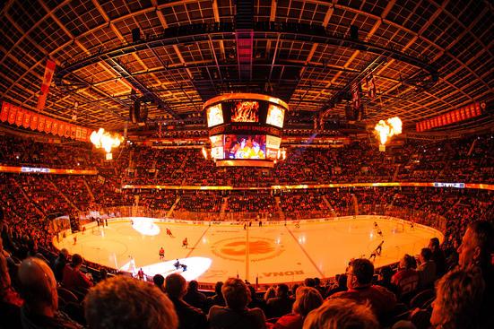 Flames Vs Wild 11022013 Calgary Photos 551x367