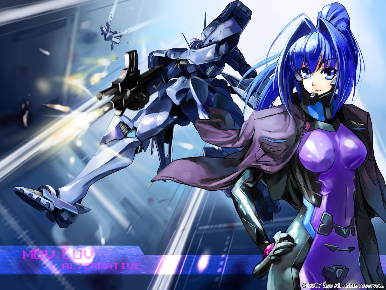 Muv Luv Wallpaper 11   1600 X 1200 stmednet 1600x1200