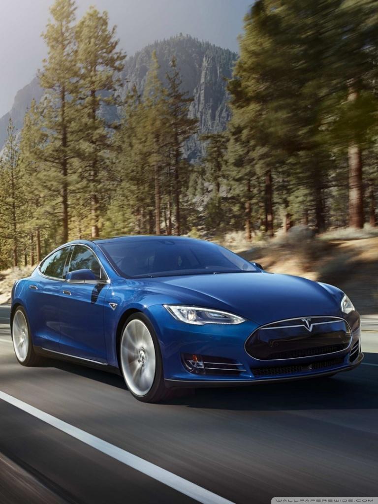 Tesla Model S Wallpapers Smart Wallpapers 768x1024