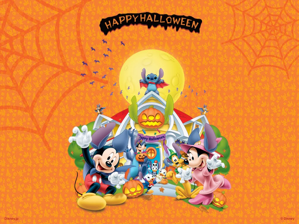 disney desktop wallpaper computer Disney Halloween 1024x768