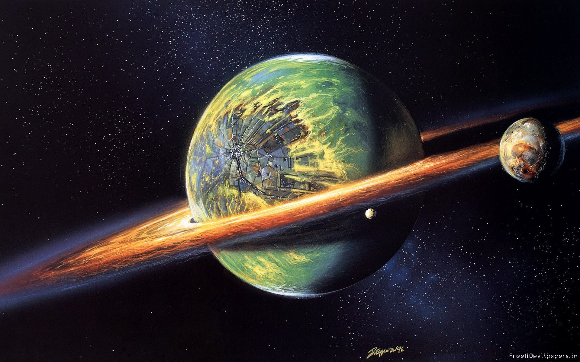 3d wallpaper colorful planets - photo #36