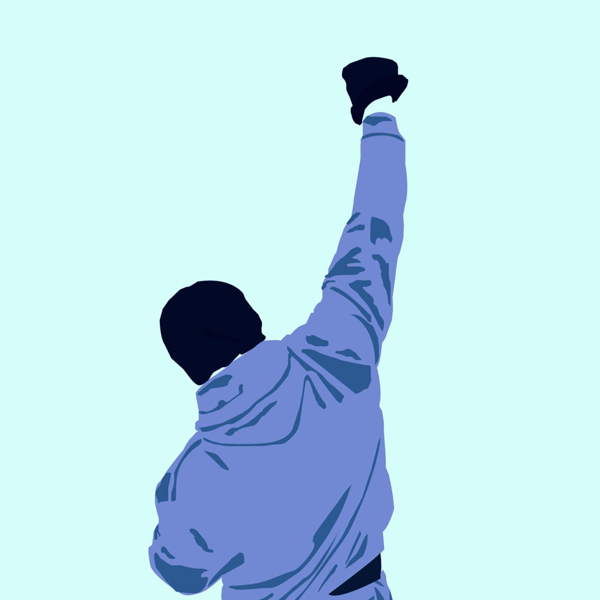 Vector Wallpaper Rocky Balboa VI   iPad iPhone HD Wallpaper 2048x2048