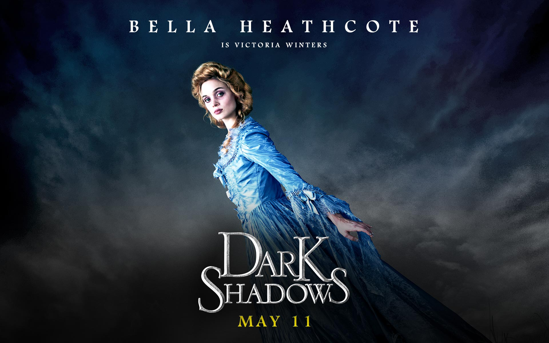 Dark Shadows wallpapers 19201200 Bella Heathcote as Victoria 1920x1200