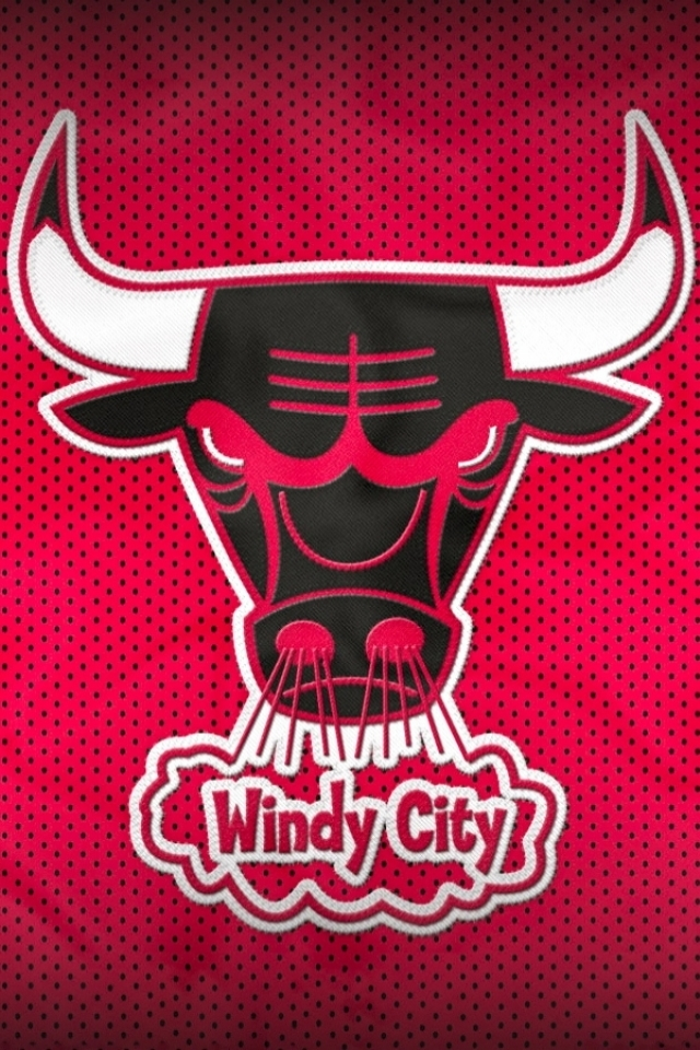 Bulls Background For Iphone Bulls Wallpaper Iphone 640x960