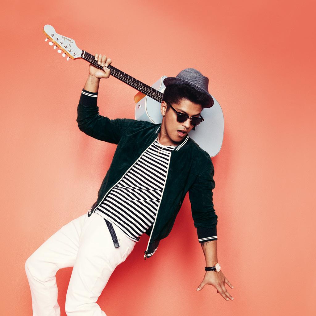 Bruno Mars 2018 Wallpapers 1024x1024