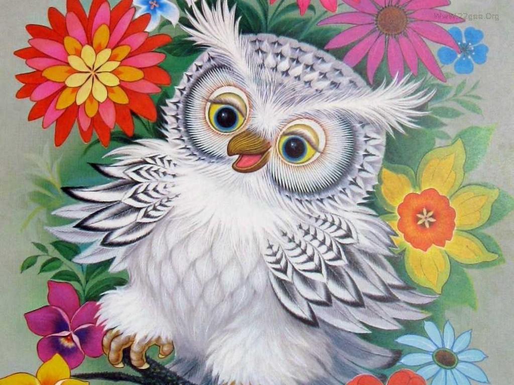 46 Free Owl Christmas Wallpaper On Wallpapersafari