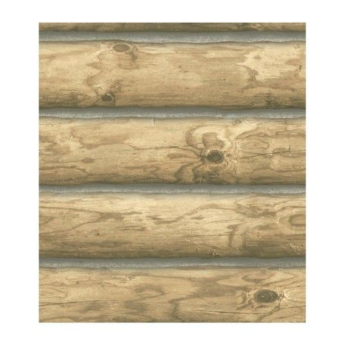 Log Wallpaper Cabin InsideThese Walls Pinterest 500x500