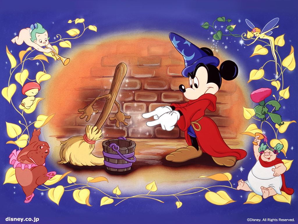 Classic Disney images Fantasia Wallpaper wallpaper photos 5776598 1024x768