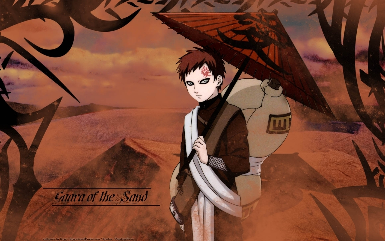 Gaara   Gaara of Suna Wallpaper 19716611 1280x800