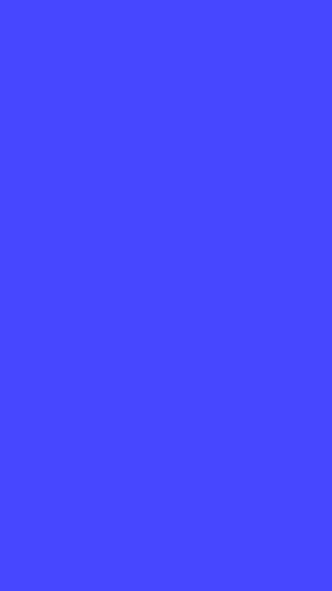 Plain blue iPhone 5 6 wallpaper iPod wallpaper 1080x1920