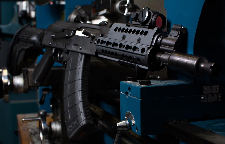 Wallpaper weapons machine AK 47 Krinkov images for desktop 1332x850