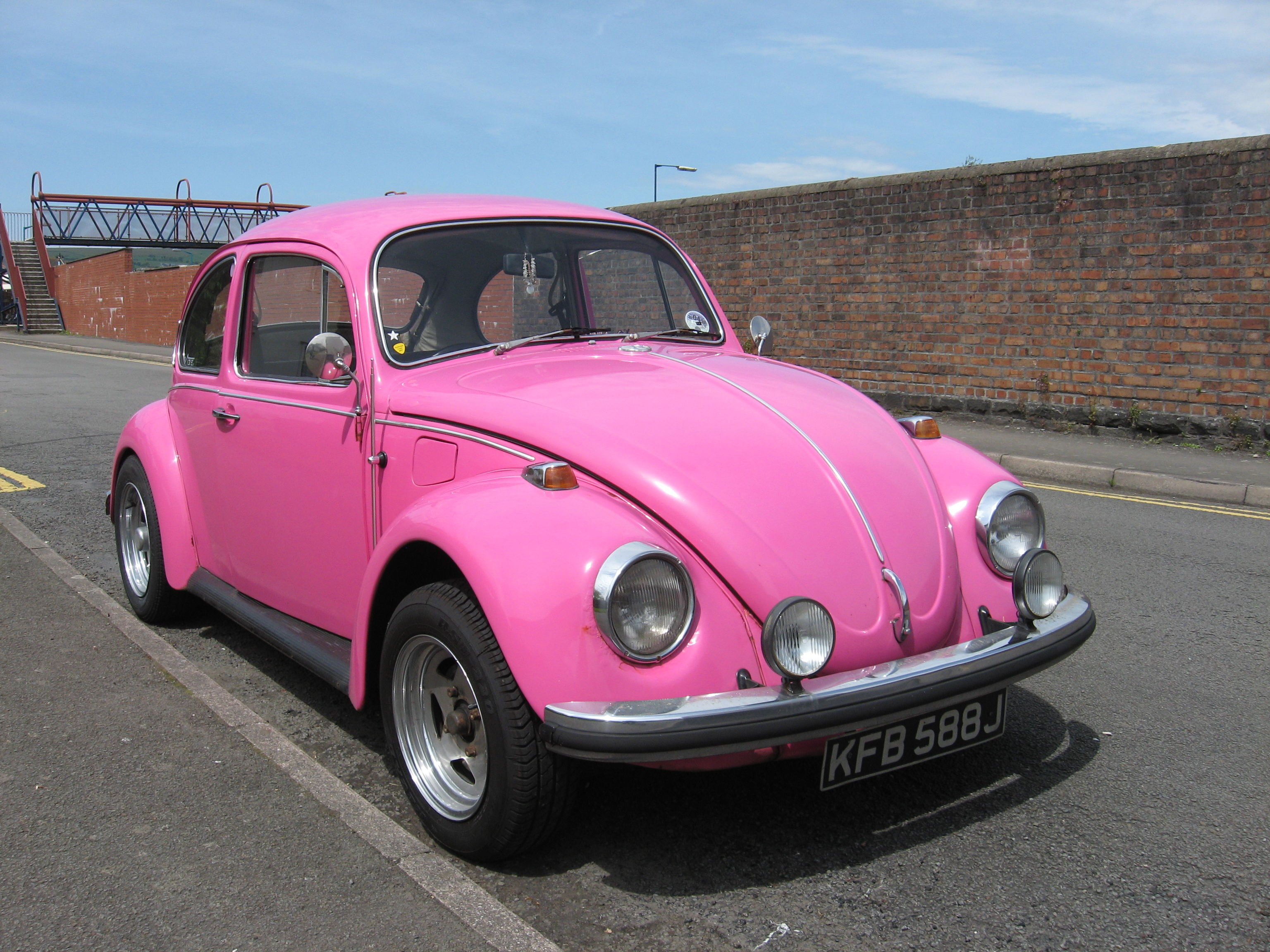Pink Volkswagen Beetle HD Wallpaper Cars Wallpapers 3072x2304
