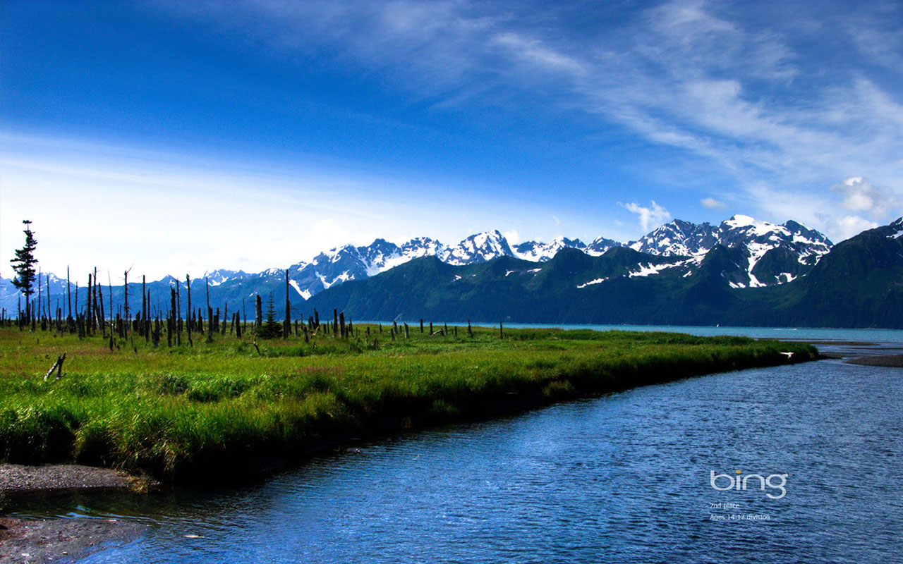 Landscape Wallpapersbing theme of photography snow capped mountains 1280x800
