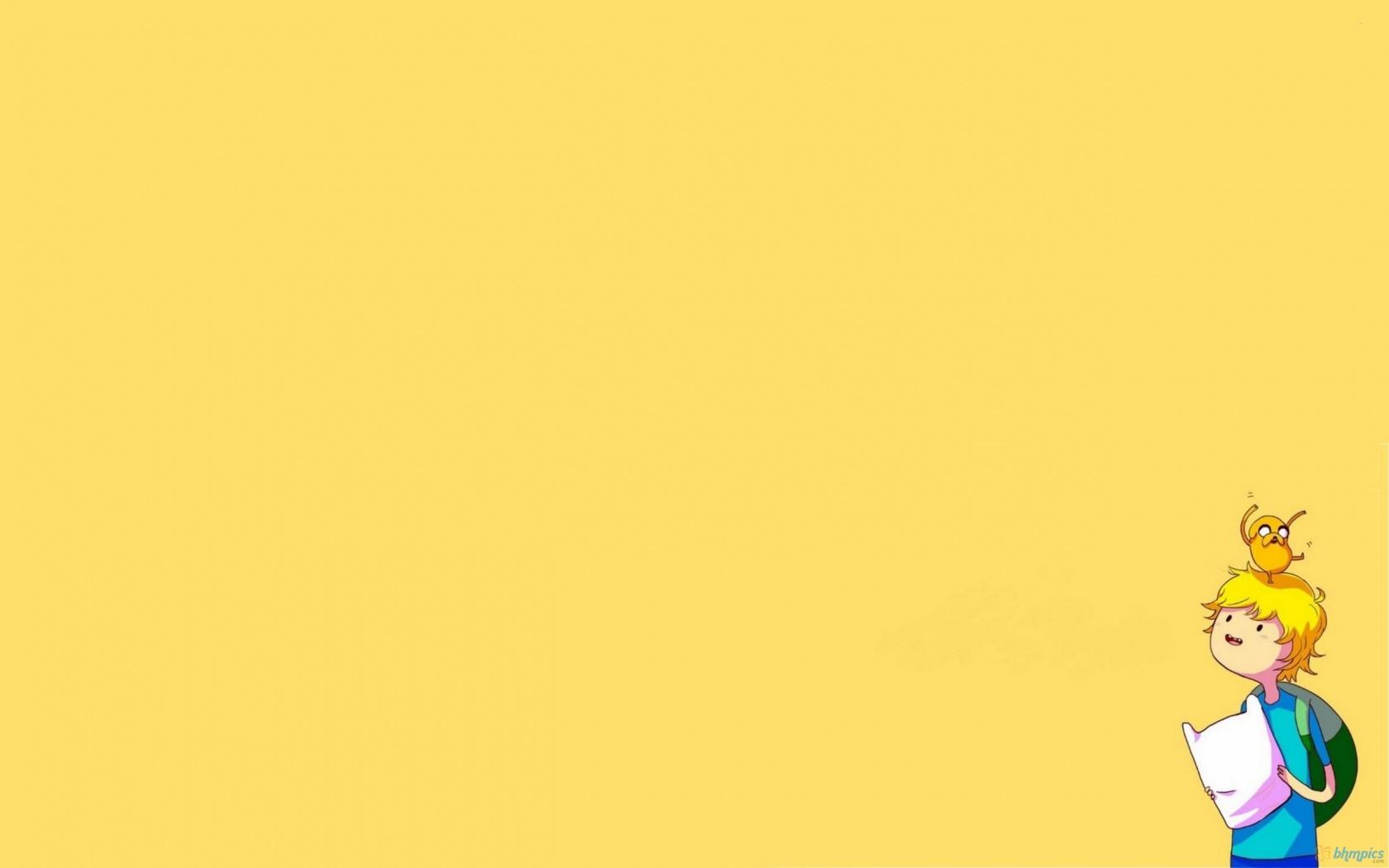 finn   Adventure Time With Finn and Jake Wallpaper 1680x1050