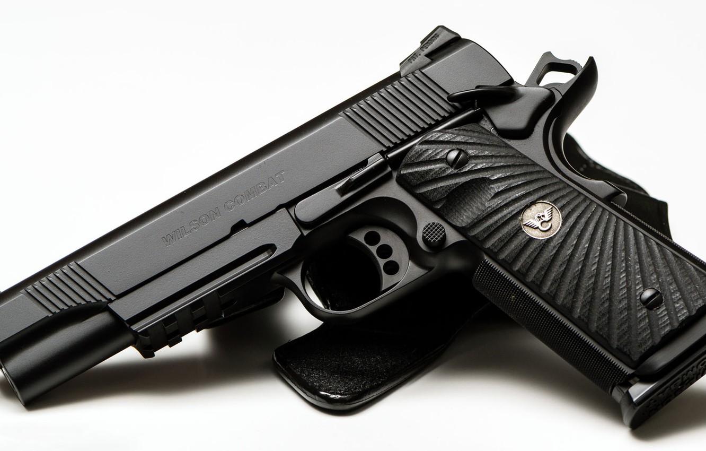 Wallpaper gun white background wilson combat cqb tactical le 1332x850