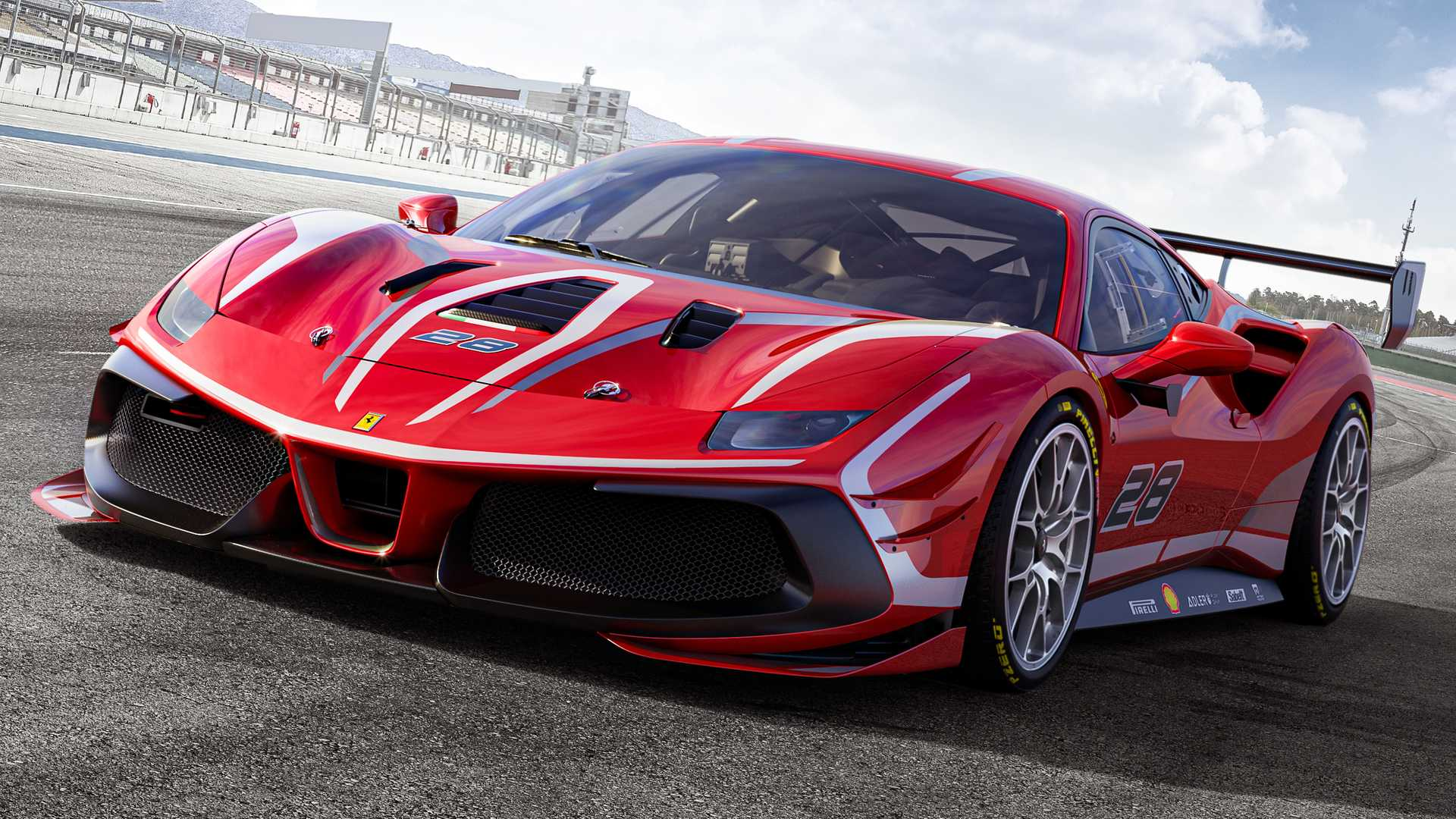 Ferrari 488 Challenge Evo Ready To Race With Refined Aero Performance 1920x1080