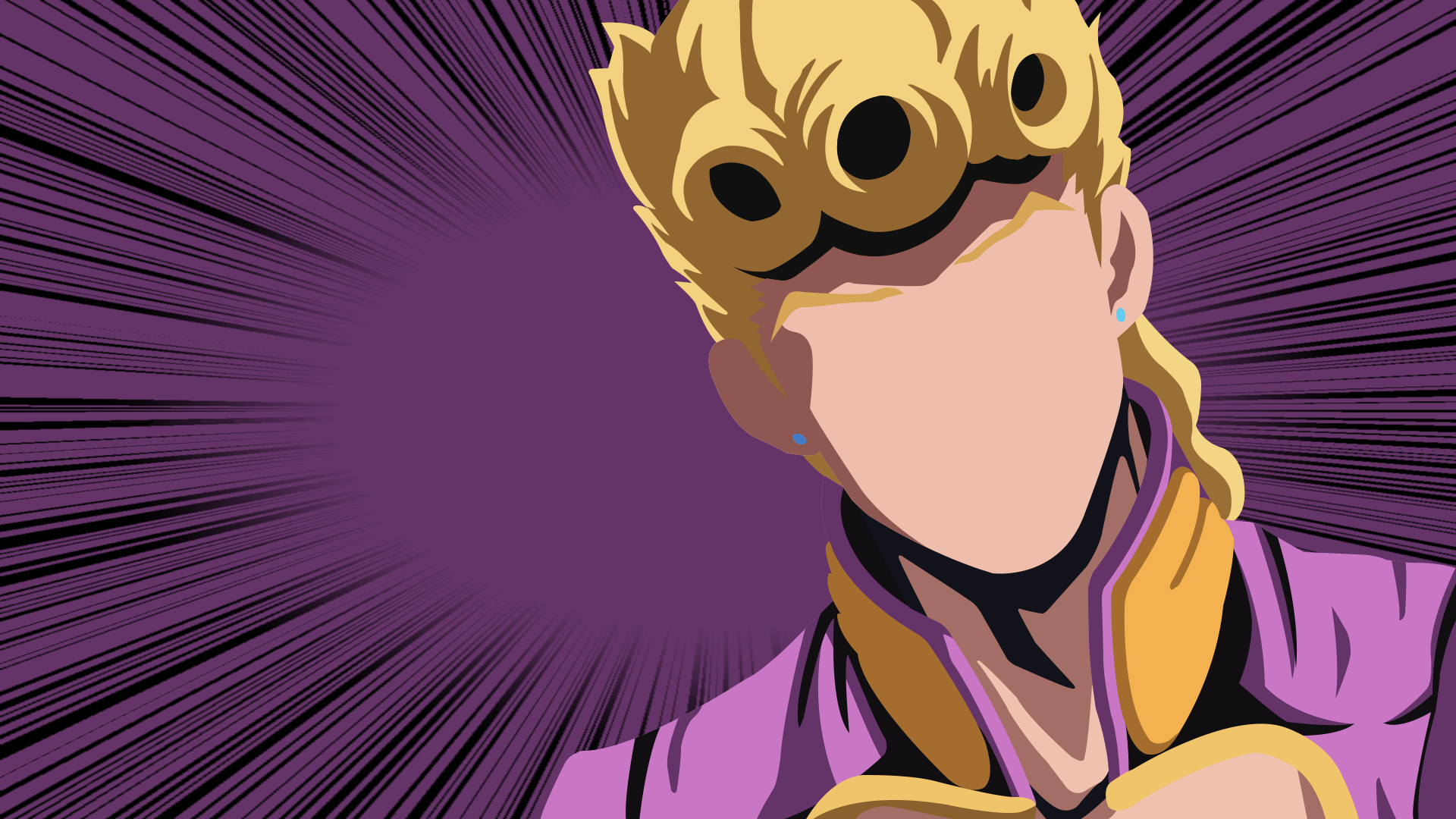 Giorno Giovanna from JoJos Bizarre Adventure Part 5 Golden Wind 1920x1080