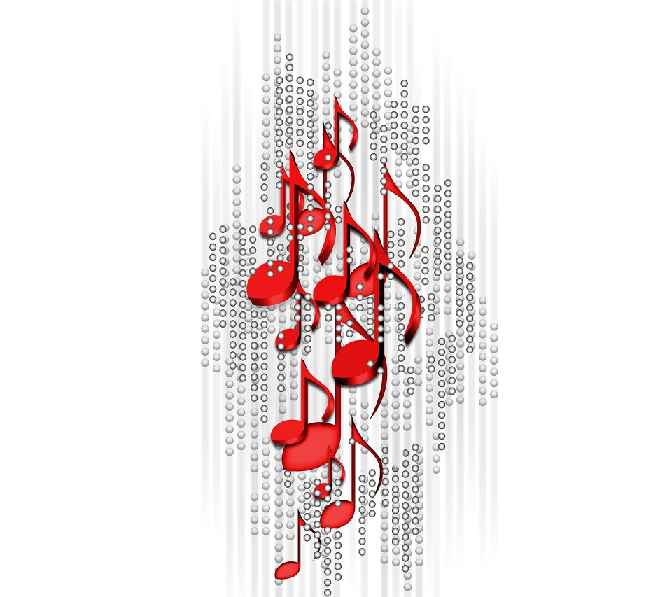 Free Download Red Music Notes Wallpaper Images Pictures Becuo