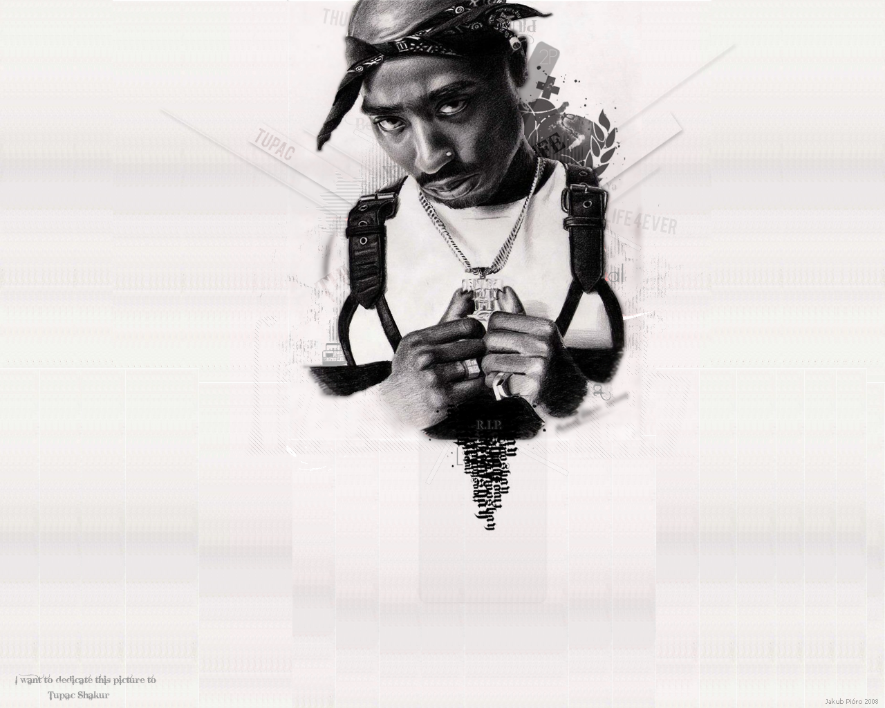 Tupac Wallpaper for My Desktop 1280x1024