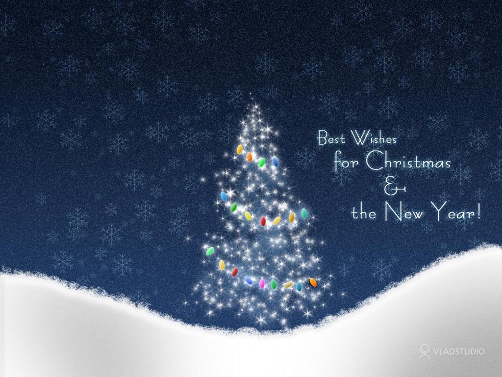 1024x768 Christmas snow desktop PC and Mac wallpaper 1024x768