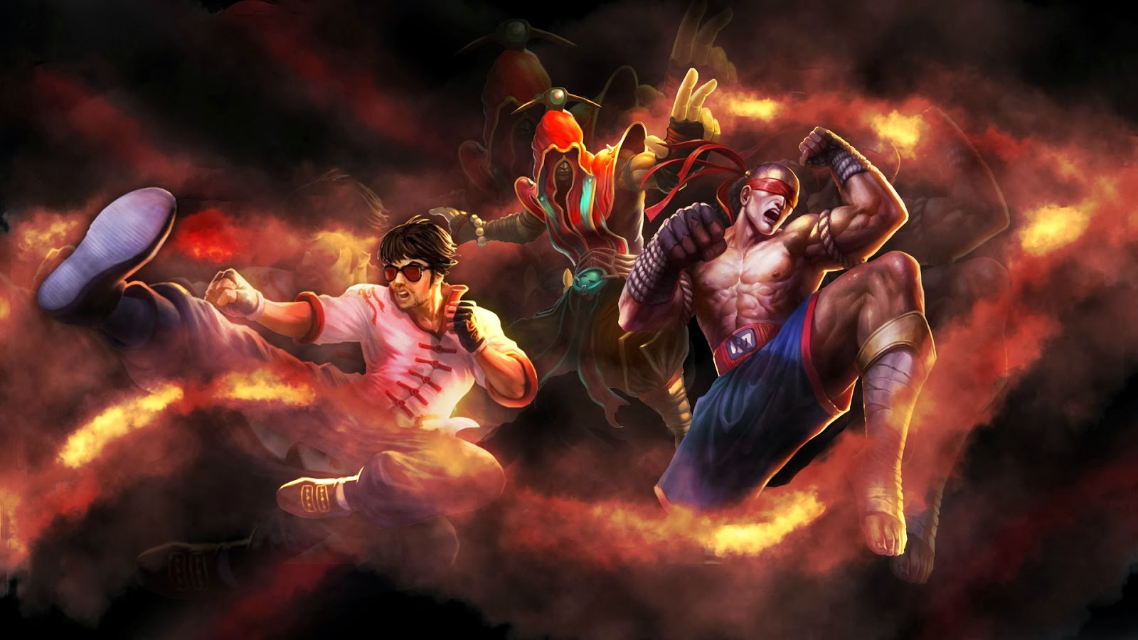 Free Download Lee Sin League Of Legends Wallpaper Lee Sin Desktop