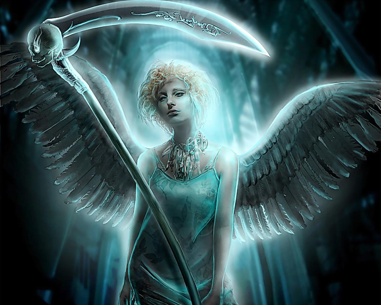 [45+] Angel of Death Wallpaper on WallpaperSafari