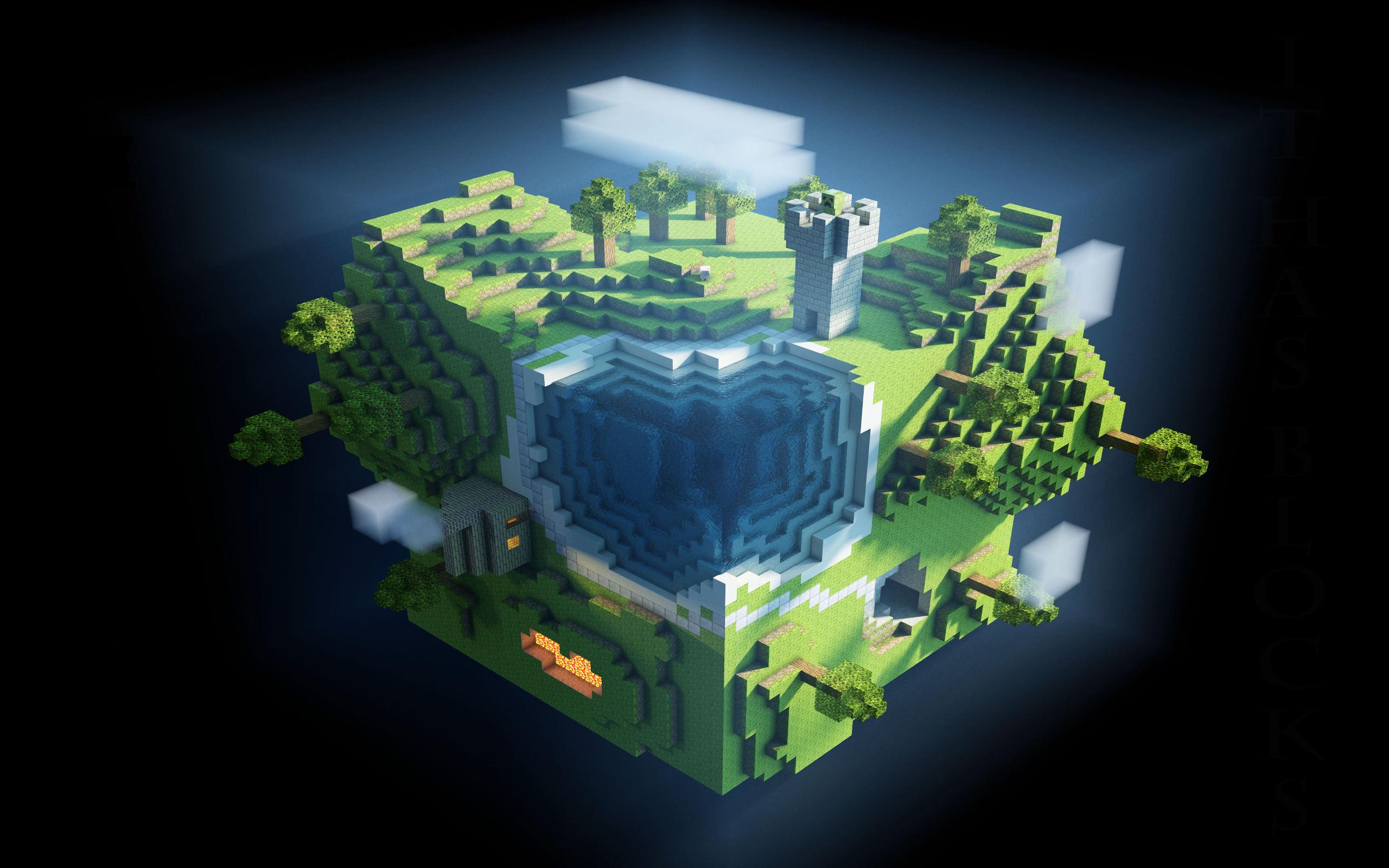 2560x1600 Minecraft desktop PC and Mac wallpaper more 2560x1600