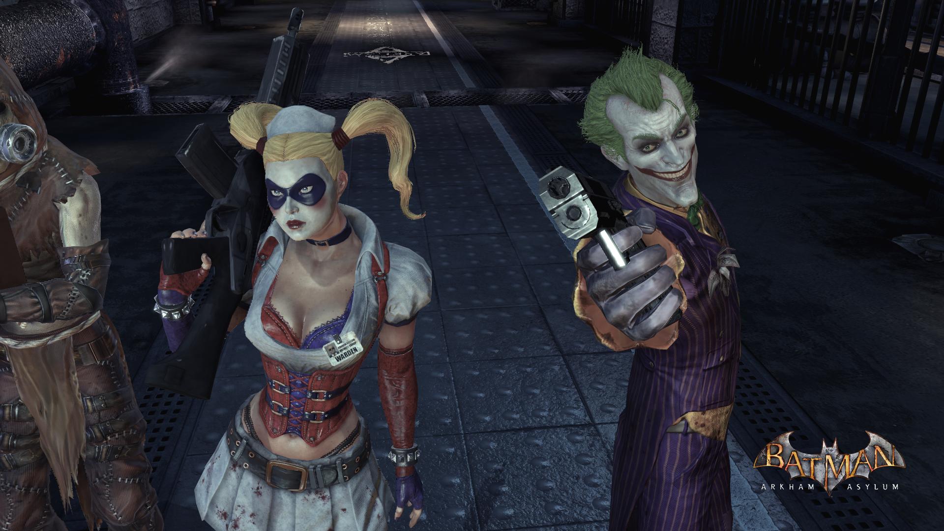 Harley Quinn Batman Arkham Asylum Yuiphone And Joker 2782029 1920 1920x1080