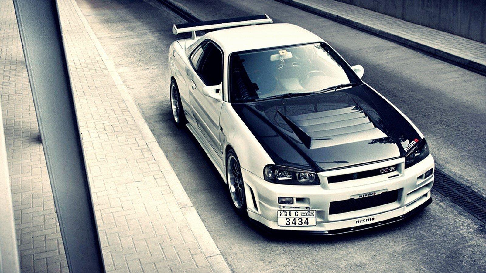 Cars Nissan Nissan Skyline R34 GT R Nissan Skyline R34 1600x900