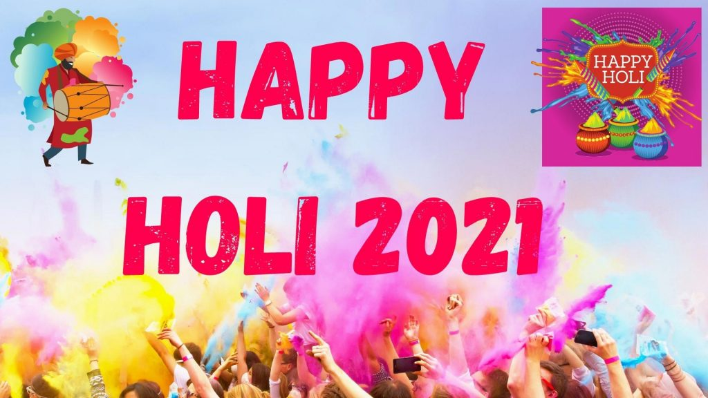 Top Happy Holi 2021 Wishes Shayari Quotes Status SMS HD Images 1024x576