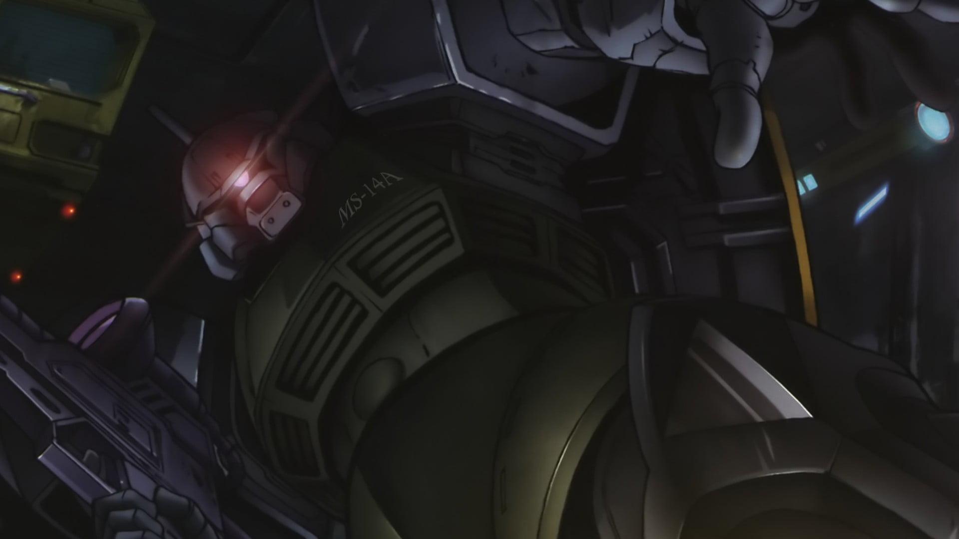 Robot artwork Gelgoog Mobile Suit Gundam HD wallpaper 1920x1080