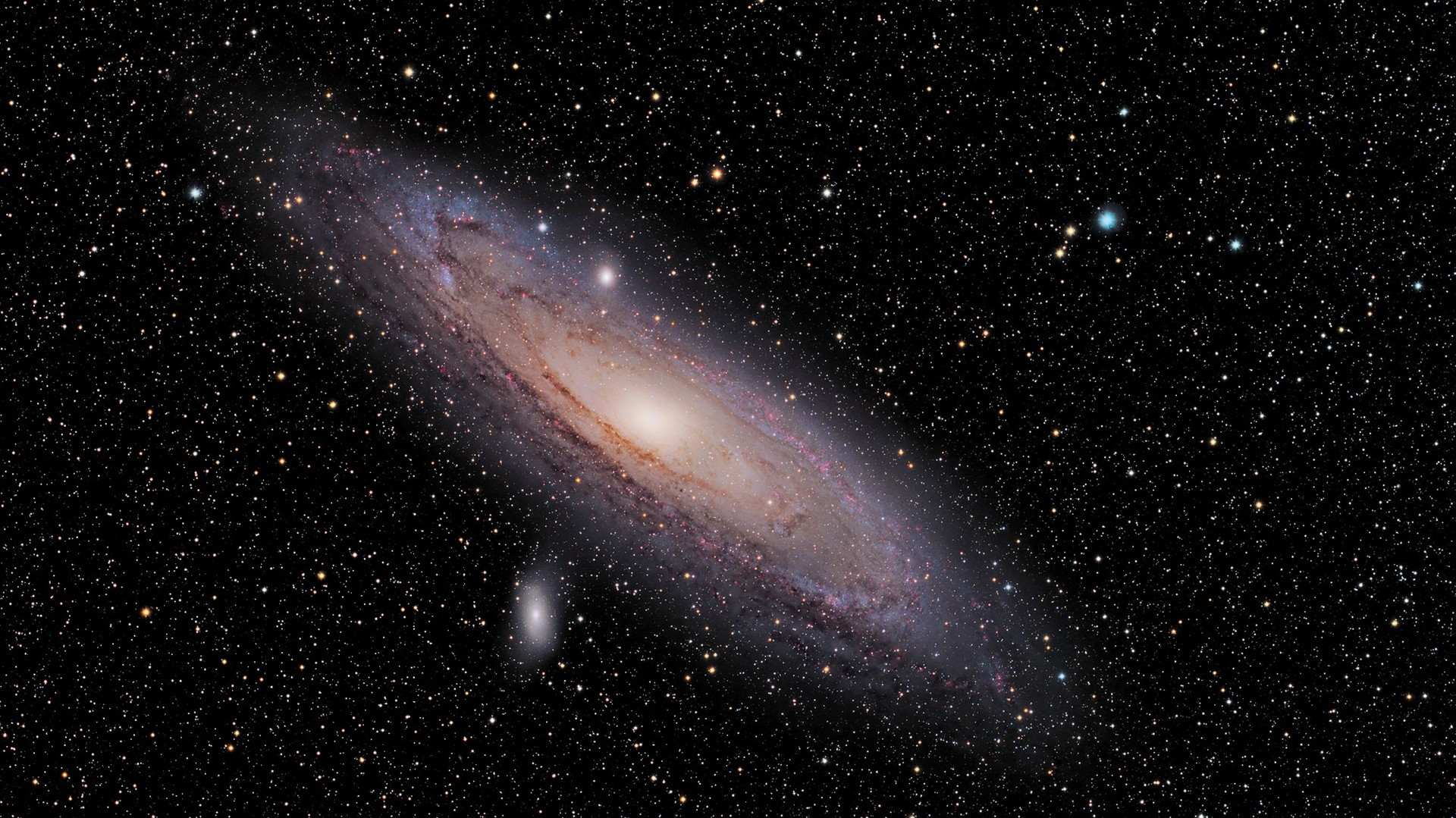 Nasa andromeda galaxy wallpaper wallpapersafari - Nasa space wallpaper ...