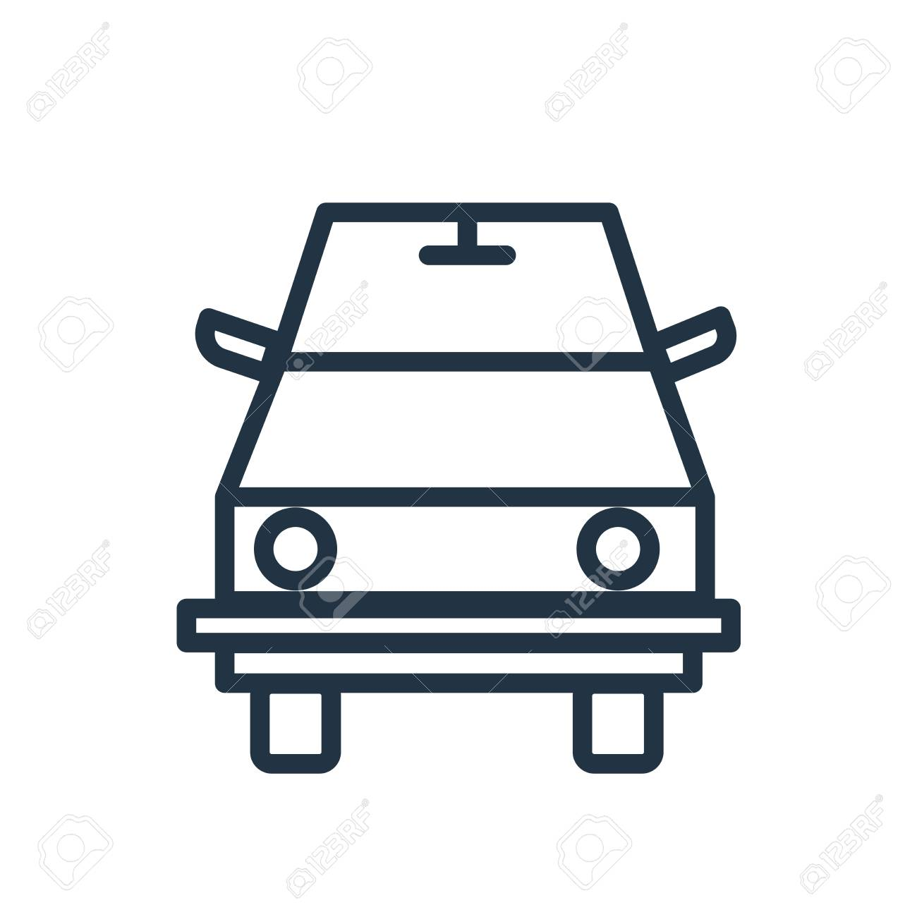Road Sweeper Icon Vector Isolated On White Background Road 1300x1300