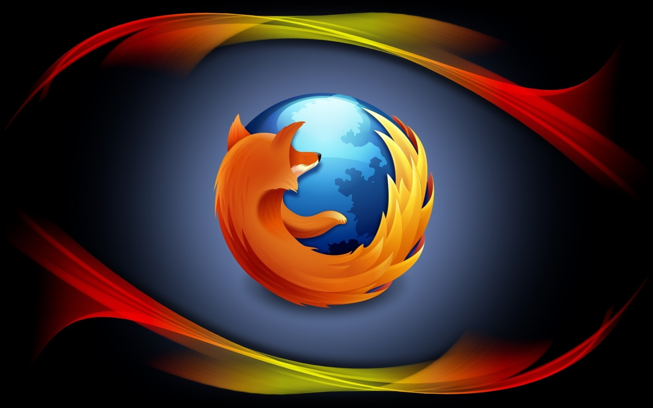 Mozilla Firefox Logo Background Wallpaper Download HD Wallpaper 1280x800