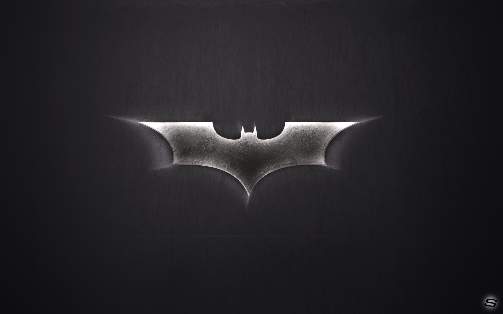 BATMAN LOGO wallpapers are presented on the website Wallpaper 1680x1050