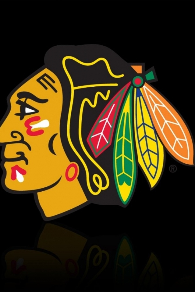 blackhawks wood wallpaper