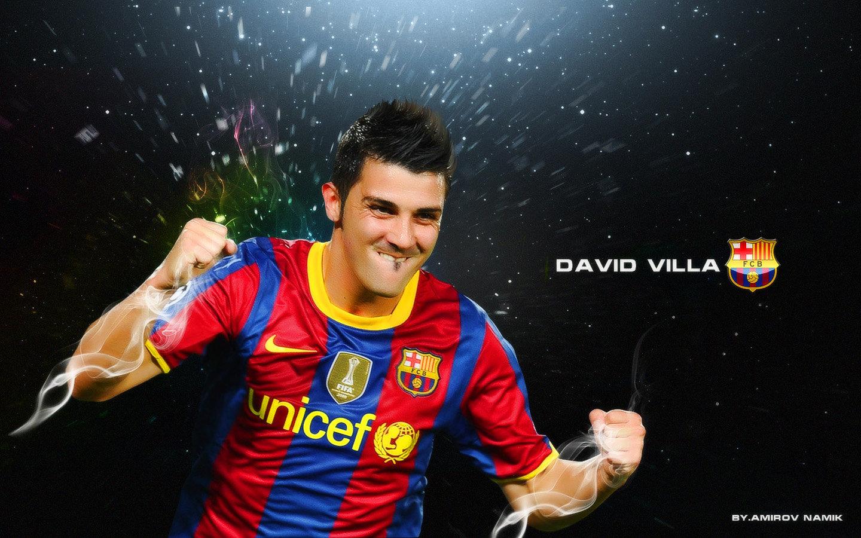 David Villa FC Barcelona Wallpaper   David Villa Wallpaper 22595115 1440x900