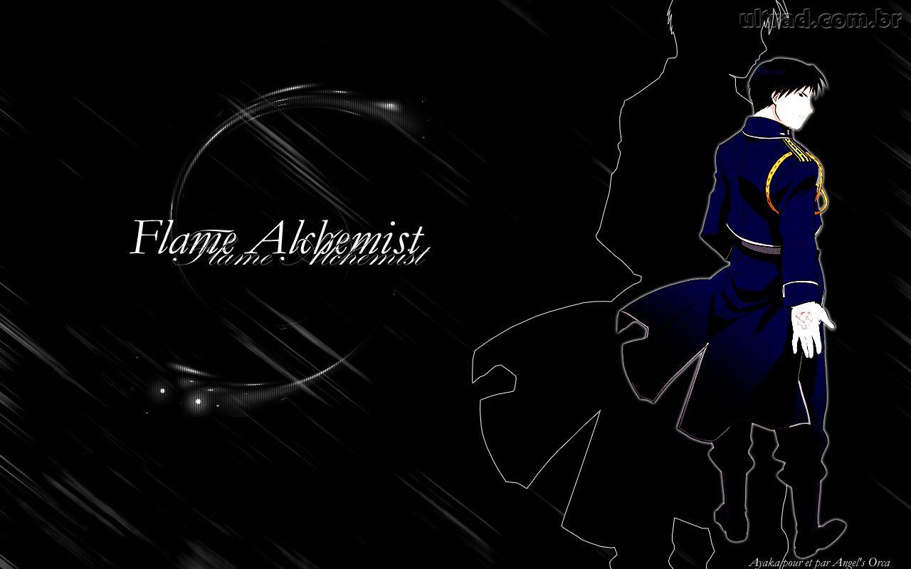 Papel de Parede Fullmetal Alchemist   Roy Mustang 1280x800