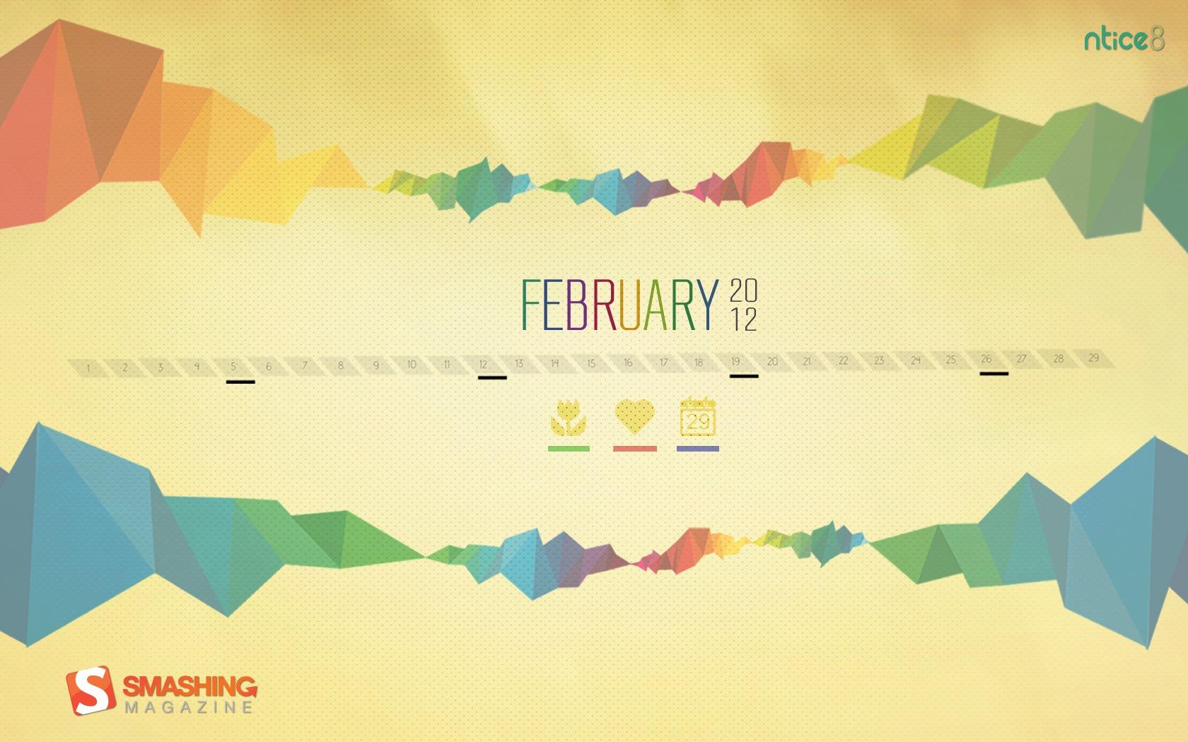 Desktop Wallpaper Calendars: February 2012 – Smashing Magazine