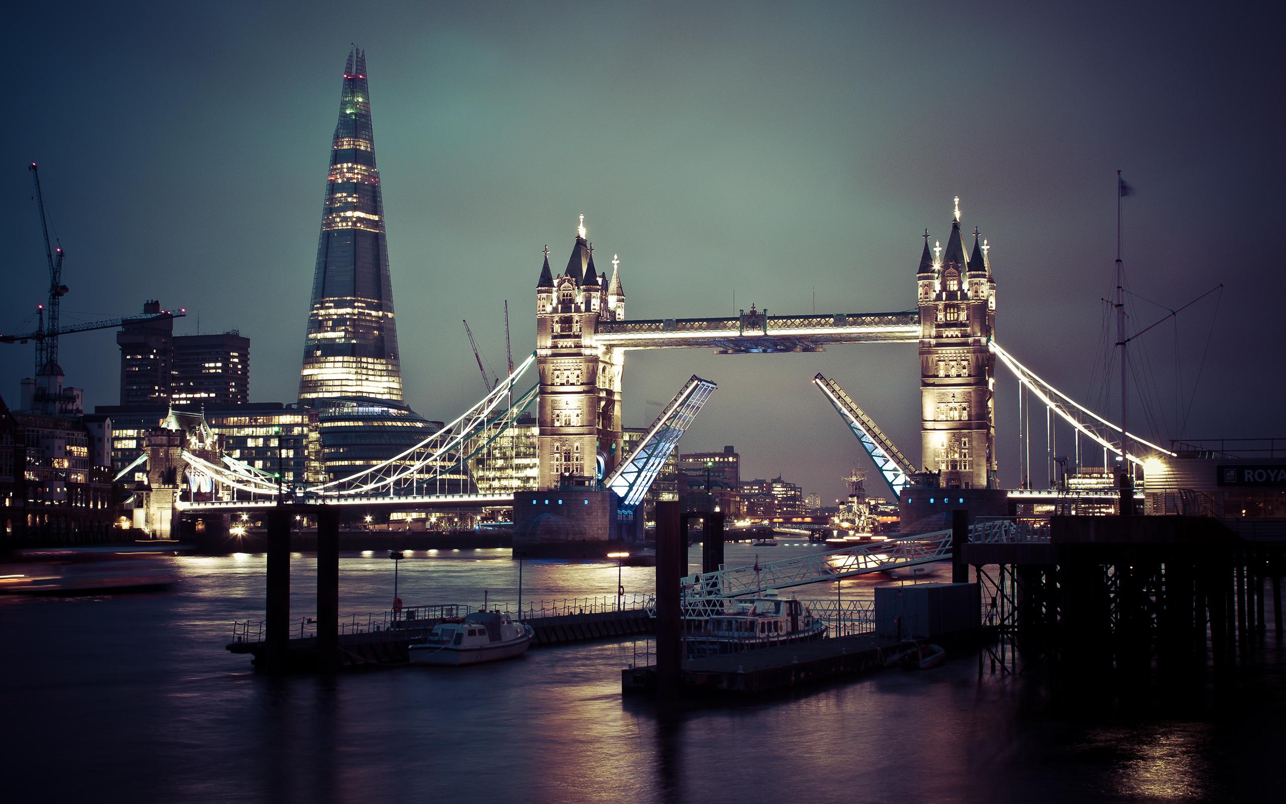 Tower Bridge of London Wallpapers HD Wallpapers 2560x1600