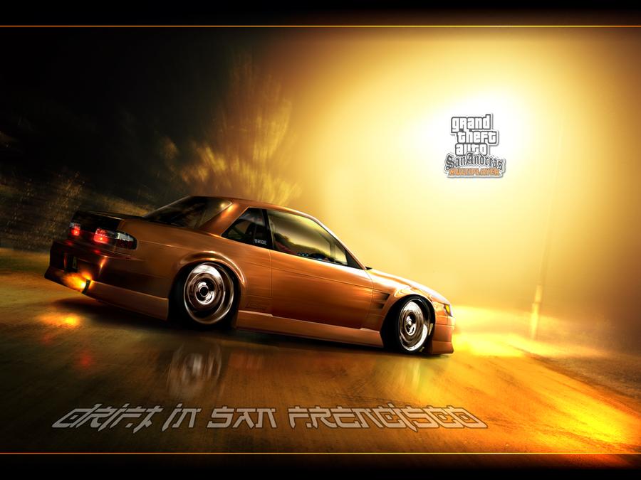 GTA SAMP   Drift Wallpaper by Bartando 900x675
