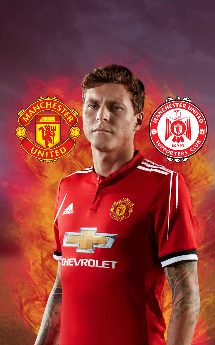 Mobile Wallpaper for Victor Lindelof of Man United by 707x1131