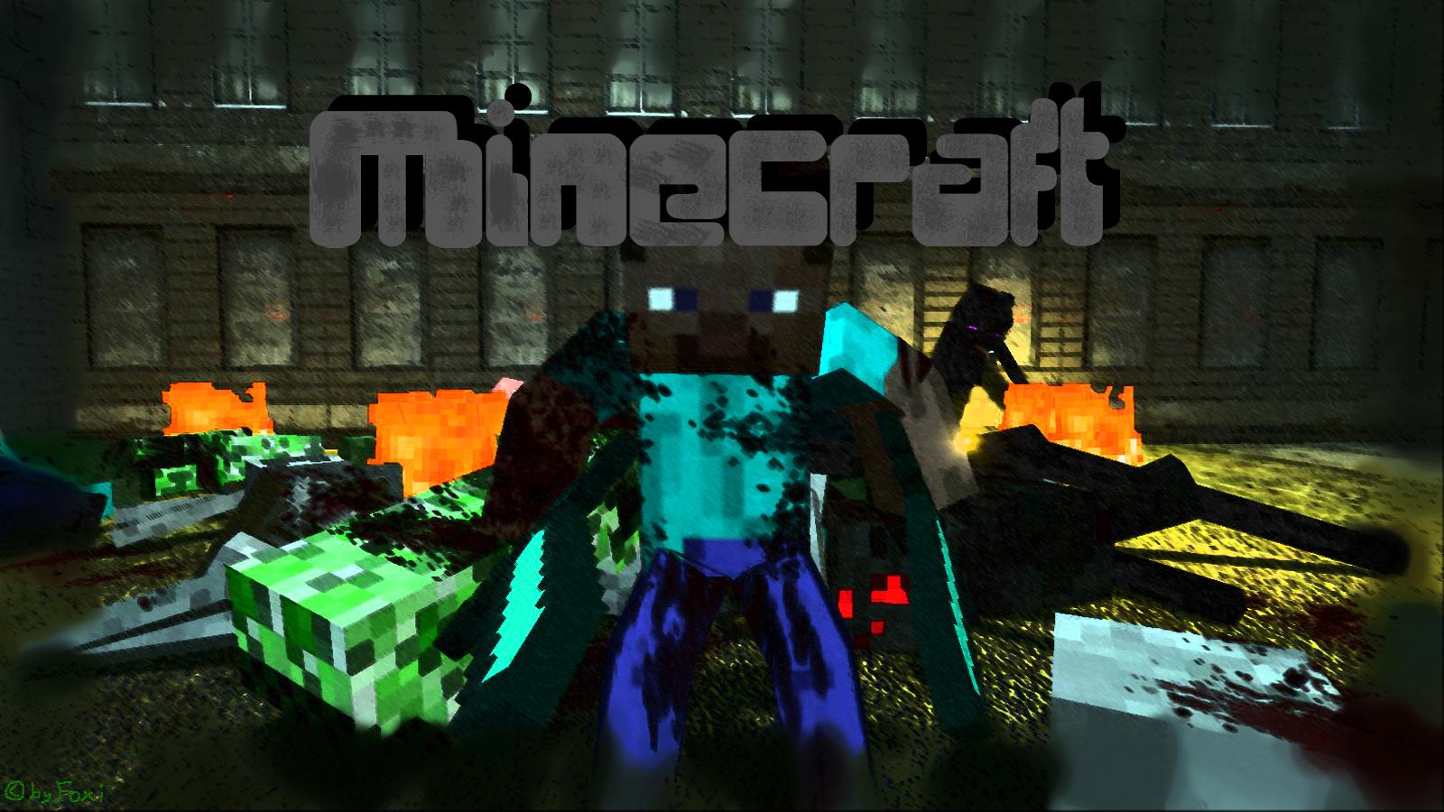 Awesome Minecraft Desktop Backgrounds Images Pictures   Becuo 1600x900