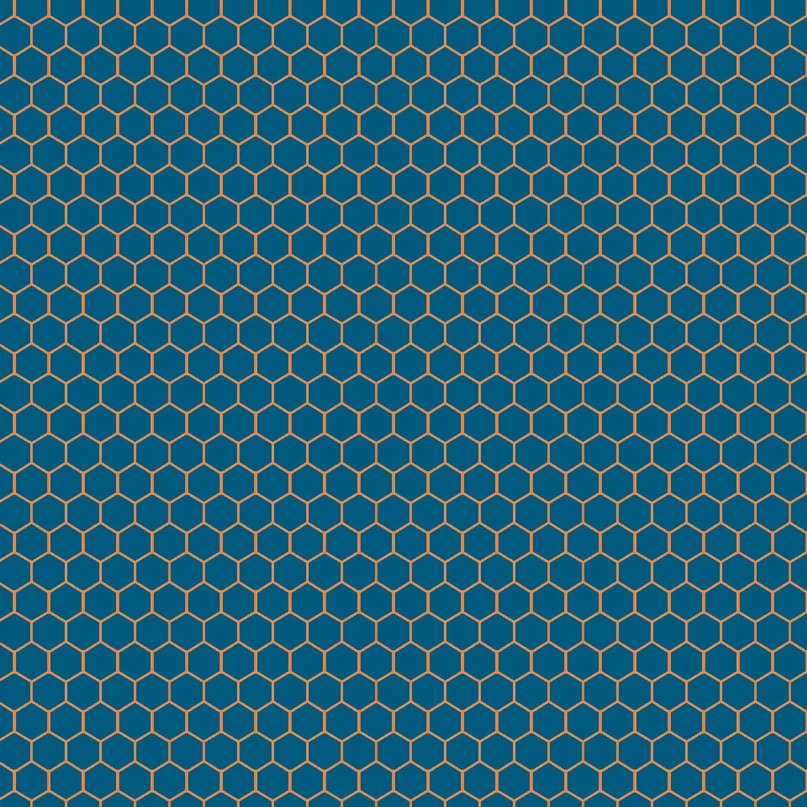 Blue honeycomb pattern wallpaper Wallpaper Wide HD 1600x1600