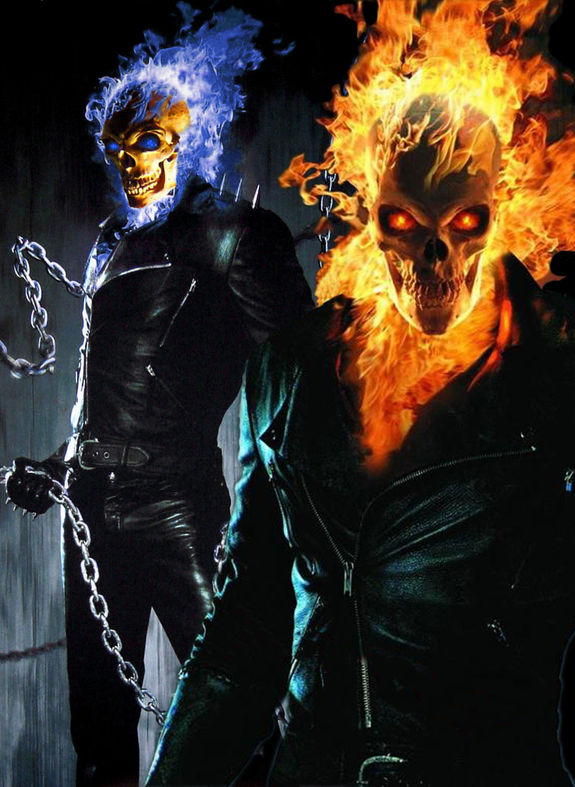 My Poster for Ghost Rider 2 by TheFreakVersion666 840x1150