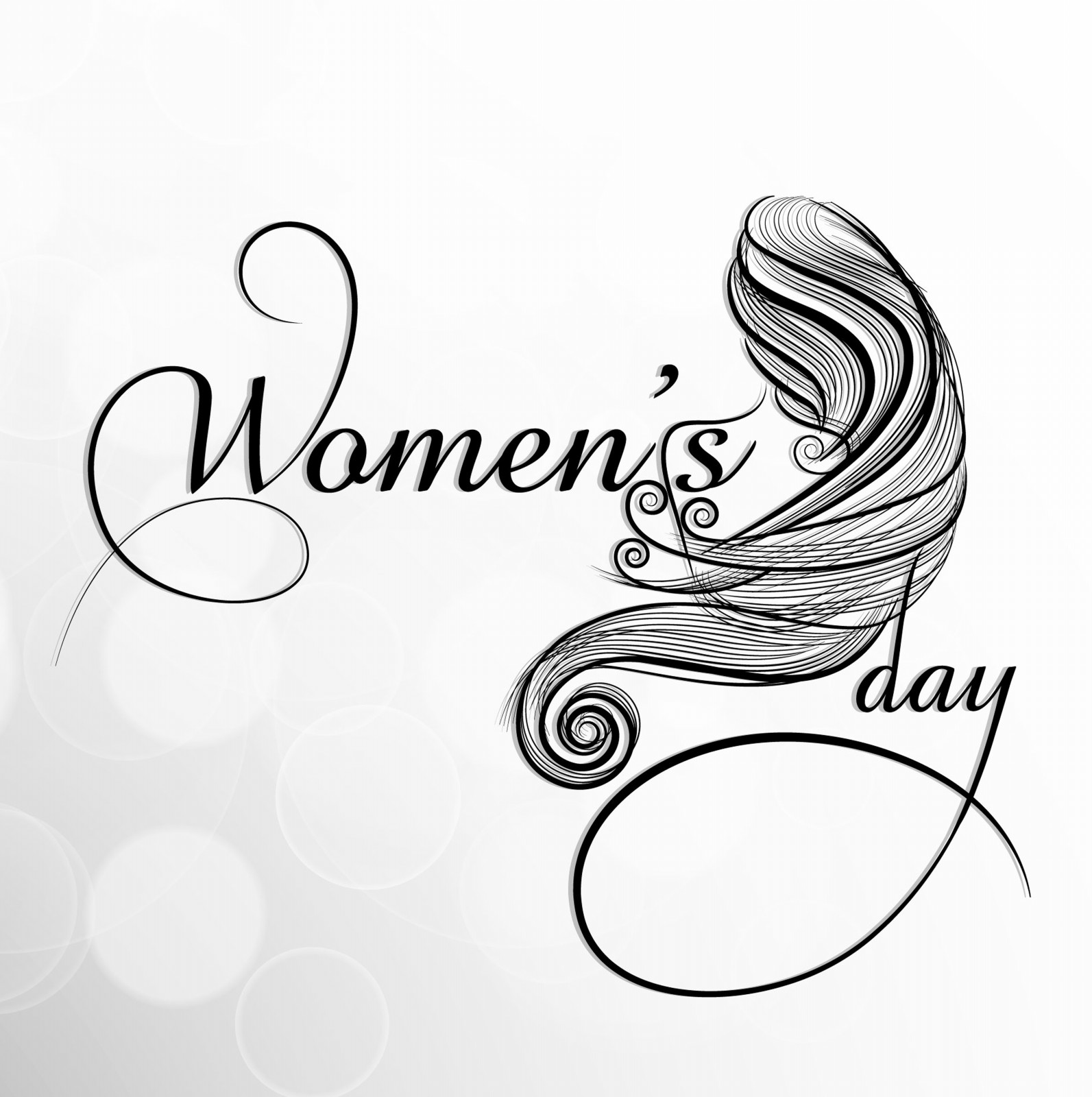 Great Womens Day Celebrations Stylish Greeting Cards HD 1593x1600